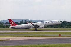 Turkish Airlines Airbus A320 Stock Photography