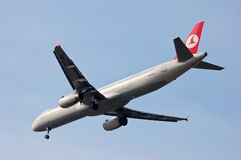 Turkish Airlines Airbus A321 Stock Photography