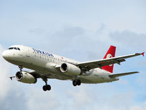 Turkish airlines aircraft Royalty Free Stock Photo