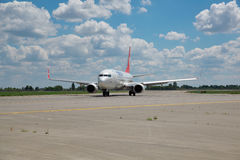 Turkish Airlines Boeing 737 Royalty Free Stock Photography