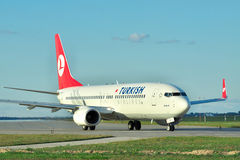 Turkish Airlines Boeing 737 Stock Images