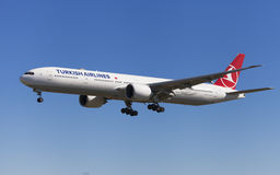 Turkish Airlines Boeing 777-300ER images libres de droits