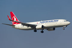 Turkish Airlines Boeing 737-800 Royalty Free Stock Image