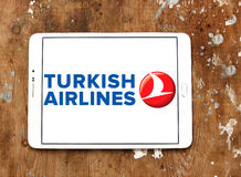 Turkish airlines logo Royalty Free Stock Photos