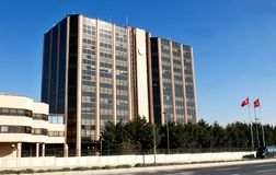 Turkish Airlines  office building Stock Image