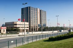 Turkish Airlines  office building Royalty Free Stock Photo