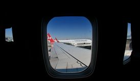 Turkish Airlines Wing Stock Images