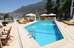 Turkish Apartment Pool Royalty Free Stock Photo