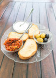 Turkish appetizer Stock Images