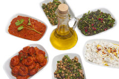 Turkish appetizers Stock Photography