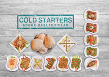 Turkish Appetizers Royalty Free Stock Images