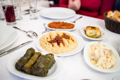 Turkish appetizers Stock Photo