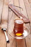 Turkish apple tea Stock Photography