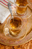 Turkish Apple Tea Stock Photo
