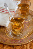 Turkish Apple Tea Royalty Free Stock Photos