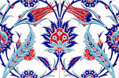 Turkish artistic wall tile Royalty Free Stock Photography