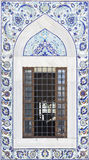 Turkish artistic wall tile Stock Photos