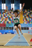 Turkish Athletic Federation Olympic Threshold Indoor Competition Stock Photography
