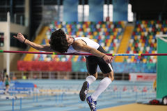 Turkish Athletic Federation Olympic Threshold Indoor Competition Stock Image