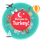 Turkish attraction. Stock Photo