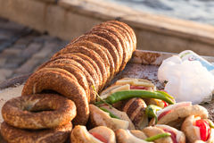 Turkish Bagel Stock Images