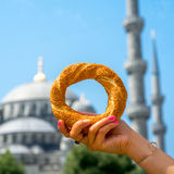 Turkish bagel Royalty Free Stock Photography