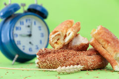 Turkish bagel simit Royalty Free Stock Photos