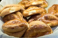 Turkish bakery (pogaca) for the breakfast Royalty Free Stock Photos