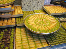 Turkish Baklava Royalty Free Stock Image