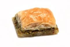 Turkish baklava . Stock Photo