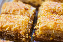 Turkish baklava Stock Photography