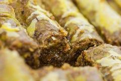Turkish baklava Stock Images