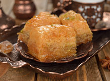 Turkish baklava Stock Image