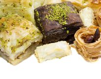 Turkish baklava Royalty Free Stock Images