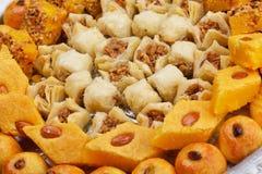 Turkish baklava dessert Royalty Free Stock Images