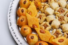 Turkish baklava dessert Stock Photography