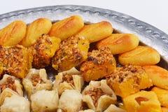 Turkish baklava dessert Stock Image