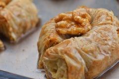 Turkish baklava dessert Royalty Free Stock Photo