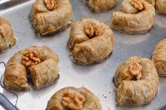 Turkish baklava dessert Royalty Free Stock Photography