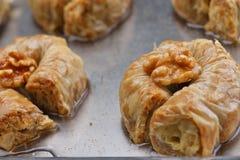 Turkish baklava dessert Royalty Free Stock Image