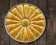 Turkish baklava royalty free stock image