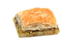 Turkish baklava . Stock Image