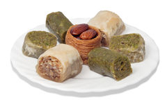 Turkish baklava Royalty Free Stock Photos