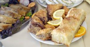 turkish baklava in a plate Stock Photo