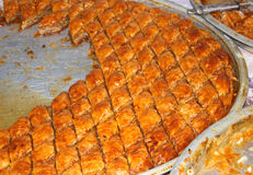 Turkish baklava 3 Royalty Free Stock Photos