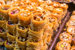 Turkish baklava Royalty Free Stock Photography