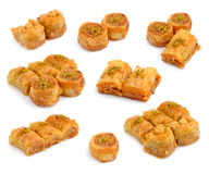 Turkish Baklava Stock Photo
