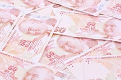 Turkish banknotes Royalty Free Stock Images
