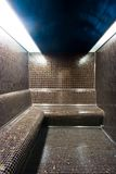 Turkish bath. Interior of the small private turkish bath Royalty Free Stock Photography
