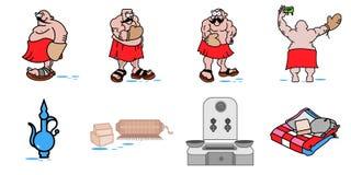 Turkish bath atmosphere as vector illustration royalty free illustration